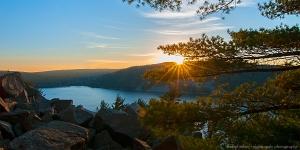 Devil's Lake Sunset